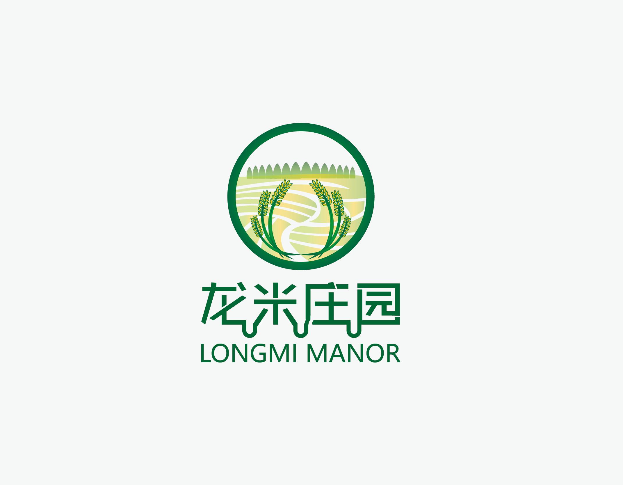 00 龙米庄园logo设计