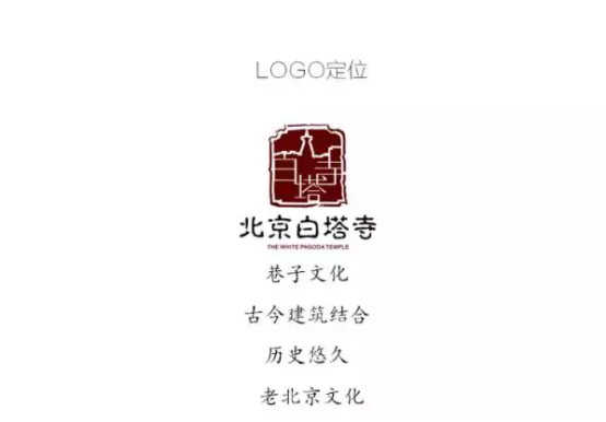 关于白塔寺logo设计作品案例